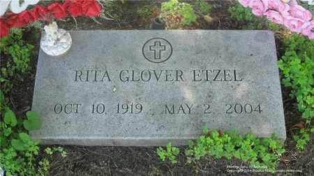GLOVER ETZEL, RITA - Lucas County, Ohio | RITA GLOVER ETZEL - Ohio Gravestone Photos