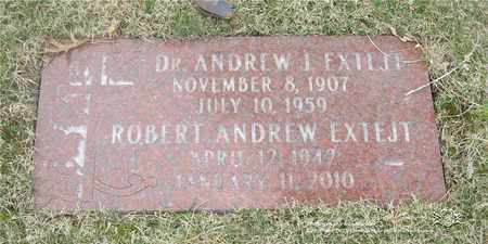 EXTEJT, ROBERT ANDREW - Lucas County, Ohio | ROBERT ANDREW EXTEJT - Ohio Gravestone Photos