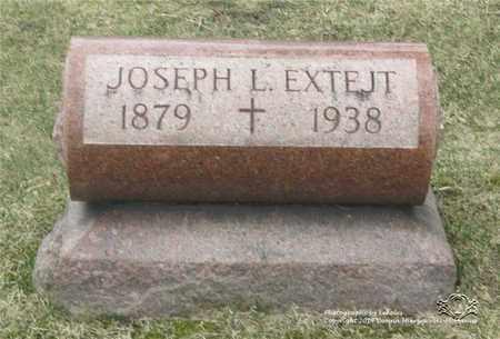 EXTEJT, JOSEPH L. - Lucas County, Ohio | JOSEPH L. EXTEJT - Ohio Gravestone Photos