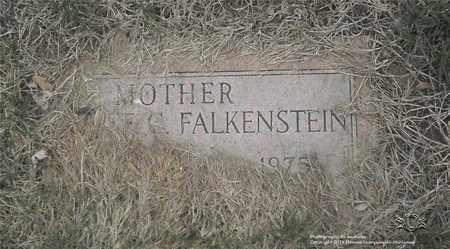 FALKENSTEIN, FLORENCE C. - Lucas County, Ohio | FLORENCE C. FALKENSTEIN - Ohio Gravestone Photos