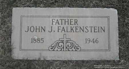 FALKENSTEIN, JOHN J. - Lucas County, Ohio | JOHN J. FALKENSTEIN - Ohio Gravestone Photos