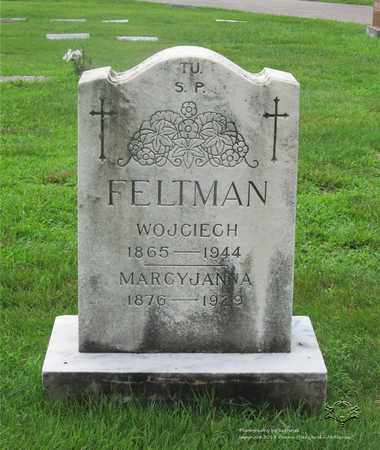 FELTMAN, WOJCIECH (GEORGE) - Lucas County, Ohio | WOJCIECH (GEORGE) FELTMAN - Ohio Gravestone Photos