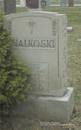 FIALKOSKI, MARY - Lucas County, Ohio | MARY FIALKOSKI - Ohio Gravestone Photos