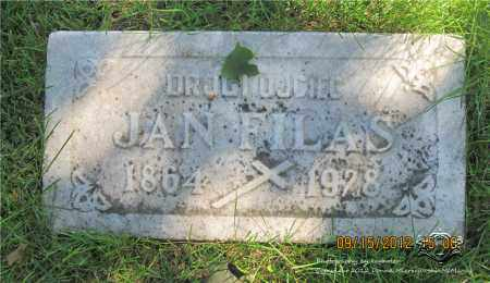 FILAS, JAN - Lucas County, Ohio | JAN FILAS - Ohio Gravestone Photos
