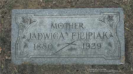 FILIPIAK, JADWIGA - Lucas County, Ohio | JADWIGA FILIPIAK - Ohio Gravestone Photos