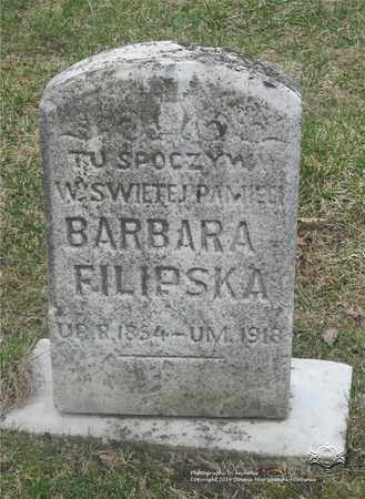 SZYMANSKI FILIPSKA, BARBARA - Lucas County, Ohio | BARBARA SZYMANSKI FILIPSKA - Ohio Gravestone Photos