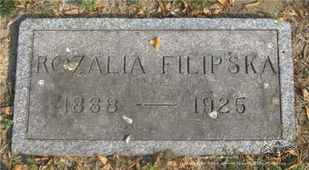 FILIPSKA, ROZALIA - Lucas County, Ohio | ROZALIA FILIPSKA - Ohio Gravestone Photos