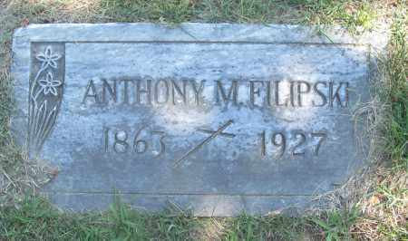 FILIPSKI, ANTHONY M. - Lucas County, Ohio | ANTHONY M. FILIPSKI - Ohio Gravestone Photos