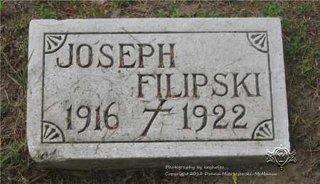 FILIPSKI, JOSEPH - Lucas County, Ohio | JOSEPH FILIPSKI - Ohio Gravestone Photos