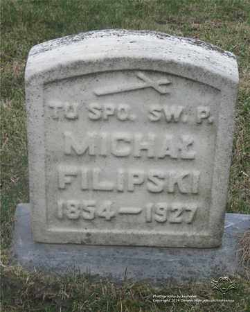 FILIPSKI, MICHAL - Lucas County, Ohio | MICHAL FILIPSKI - Ohio Gravestone Photos