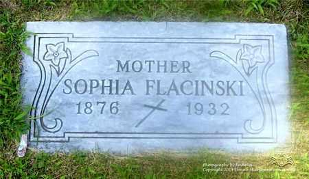 FLACZYNSKI, SOPHIA - Lucas County, Ohio | SOPHIA FLACZYNSKI - Ohio Gravestone Photos