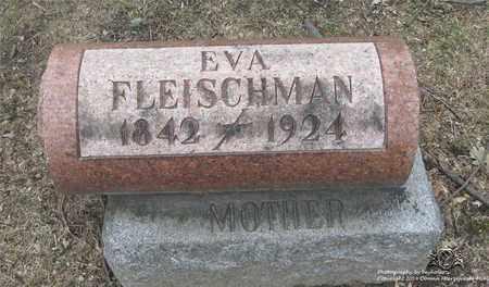 FLEISCHMAN, EVA - Lucas County, Ohio | EVA FLEISCHMAN - Ohio Gravestone Photos