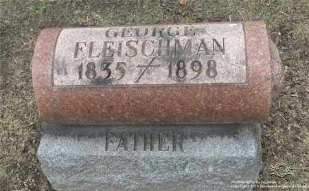 FLEISCHMAN, GEORGE - Lucas County, Ohio | GEORGE FLEISCHMAN - Ohio Gravestone Photos