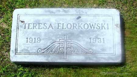 FLORKOWSKI, TERESA - Lucas County, Ohio | TERESA FLORKOWSKI - Ohio Gravestone Photos