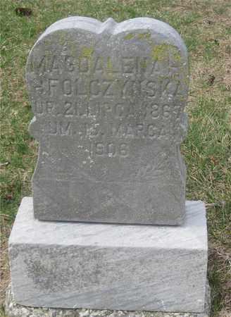 FOLCZYNSKA, MAGDALENA - Lucas County, Ohio | MAGDALENA FOLCZYNSKA - Ohio Gravestone Photos