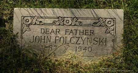 FOLCZYNSKI, JOHN - Lucas County, Ohio | JOHN FOLCZYNSKI - Ohio Gravestone Photos