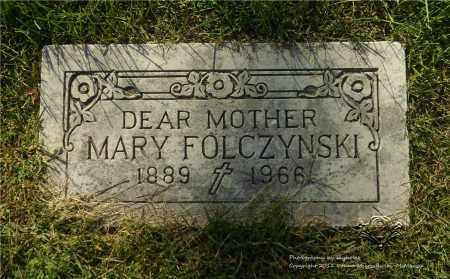 FOLCZYNSKI, MARY - Lucas County, Ohio | MARY FOLCZYNSKI - Ohio Gravestone Photos