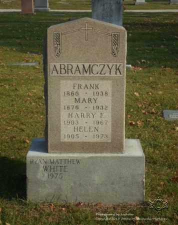 ABRAMCZYK, MARY - Lucas County, Ohio | MARY ABRAMCZYK - Ohio Gravestone Photos