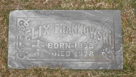 FRANKOWSKI, FELIX - Lucas County, Ohio | FELIX FRANKOWSKI - Ohio Gravestone Photos