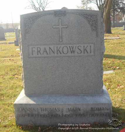 FRANKOWSKI, THOMAS - Lucas County, Ohio | THOMAS FRANKOWSKI - Ohio Gravestone Photos