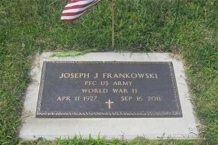 FRANKOWSKI, JOSEPH J. - Lucas County, Ohio | JOSEPH J. FRANKOWSKI - Ohio Gravestone Photos
