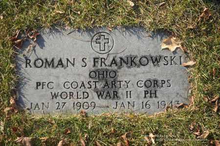 FRANKOWSKI (MILITARY STONE), ROMAN - Lucas County, Ohio | ROMAN FRANKOWSKI (MILITARY STONE) - Ohio Gravestone Photos