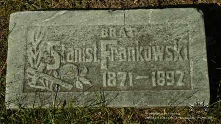 FRANKOWSKI, STANISLAW - Lucas County, Ohio | STANISLAW FRANKOWSKI - Ohio Gravestone Photos