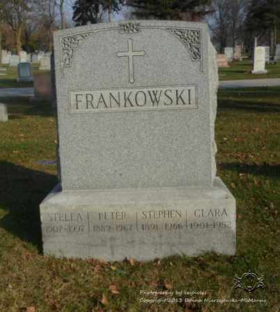 FRANKOWSKI, CLARA - Lucas County, Ohio | CLARA FRANKOWSKI - Ohio Gravestone Photos