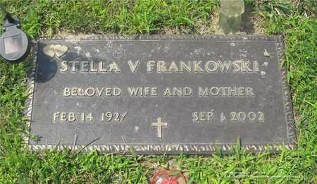 FRANKOWSKI, STELLA V. - Lucas County, Ohio | STELLA V. FRANKOWSKI - Ohio Gravestone Photos