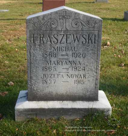 FRASZEWSKI, MICHAL - Lucas County, Ohio | MICHAL FRASZEWSKI - Ohio Gravestone Photos