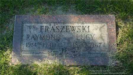 FRASZEWSKI, LUCY - Lucas County, Ohio | LUCY FRASZEWSKI - Ohio Gravestone Photos