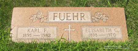 FUEHR, KARL F. - Lucas County, Ohio | KARL F. FUEHR - Ohio Gravestone Photos