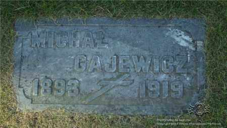 GAJEWICZ, MICHAL - Lucas County, Ohio | MICHAL GAJEWICZ - Ohio Gravestone Photos