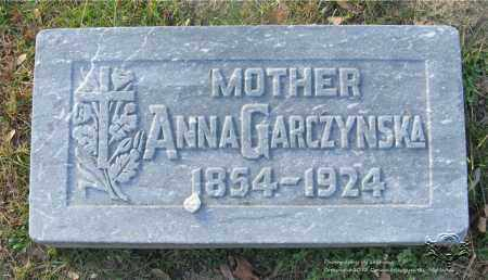GARCZYNSKA, ANNA - Lucas County, Ohio | ANNA GARCZYNSKA - Ohio Gravestone Photos