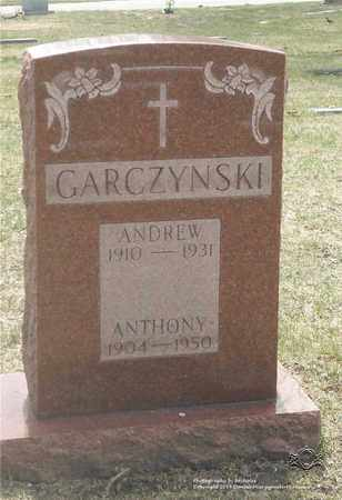 GARCZYNSKI, ANTHONY - Lucas County, Ohio | ANTHONY GARCZYNSKI - Ohio Gravestone Photos