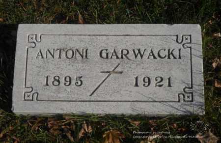GARWACKI, ANTONI - Lucas County, Ohio | ANTONI GARWACKI - Ohio Gravestone Photos