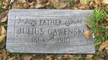 GAWENSKI, JULIUS - Lucas County, Ohio | JULIUS GAWENSKI - Ohio Gravestone Photos
