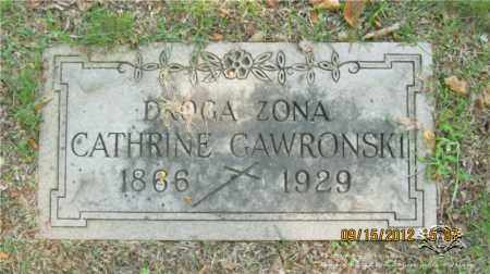 GAWRONSKI, CATHRINE - Lucas County, Ohio | CATHRINE GAWRONSKI - Ohio Gravestone Photos