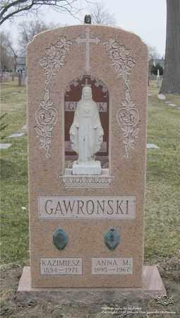 GAWRONSKI, KAZMIERSZ - Lucas County, Ohio | KAZMIERSZ GAWRONSKI - Ohio Gravestone Photos