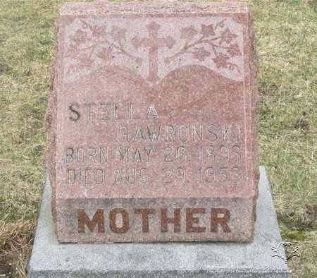 GLOWCZEWSKI GAWRONSKI, STELLA - Lucas County, Ohio | STELLA GLOWCZEWSKI GAWRONSKI - Ohio Gravestone Photos