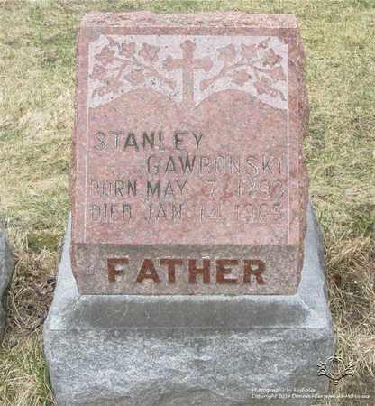 GAWRONSKI, STANLEY - Lucas County, Ohio | STANLEY GAWRONSKI - Ohio Gravestone Photos