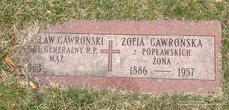 GAWRONSKI, WACLAW - Lucas County, Ohio | WACLAW GAWRONSKI - Ohio Gravestone Photos