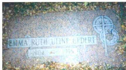 GEDERT, EMMA R. - Lucas County, Ohio | EMMA R. GEDERT - Ohio Gravestone Photos