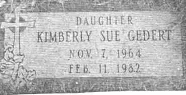GEDERT, KIMBERLY S. - Lucas County, Ohio | KIMBERLY S. GEDERT - Ohio Gravestone Photos