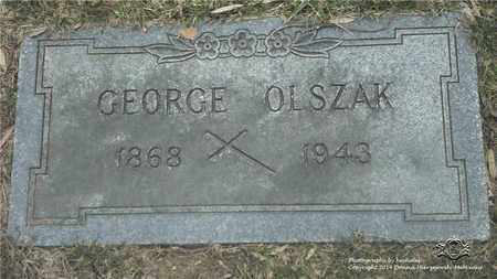 OLSZAK, GEORGE - Lucas County, Ohio | GEORGE OLSZAK - Ohio Gravestone Photos