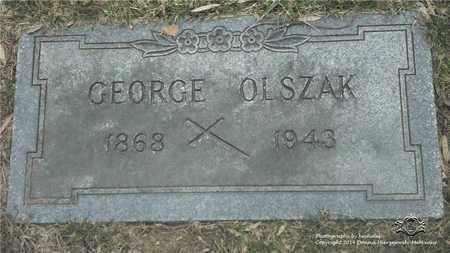 OLSZAK, GEORGE - Lucas County, Ohio   GEORGE OLSZAK - Ohio Gravestone Photos