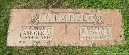 GIMPLE, ARNOLD J. - Lucas County, Ohio | ARNOLD J. GIMPLE - Ohio Gravestone Photos