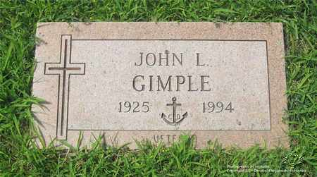 GIMPLE, JOHN L. - Lucas County, Ohio | JOHN L. GIMPLE - Ohio Gravestone Photos