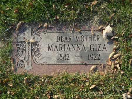 GIZA, MARIANNA - Lucas County, Ohio | MARIANNA GIZA - Ohio Gravestone Photos