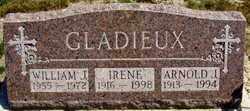GLADIEUX, IRENE - Lucas County, Ohio | IRENE GLADIEUX - Ohio Gravestone Photos